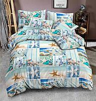 Семейный комплект постельного белья Мальта, сатин