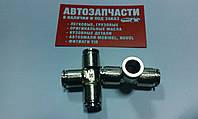 Тройник трубки пластиковой (спасатель) стальной Д=8