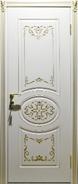 Двери межкомнатные Неман, Сильвия ВИП белый супермат ПГ