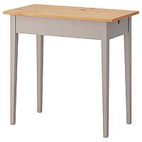 IKEA NORRASEN Стол для ноутбука серый  (002.606.77)