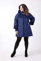 Женское весеннее пальто большого размера, фото 1