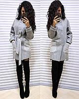 Женское  пальто Belgia серое
