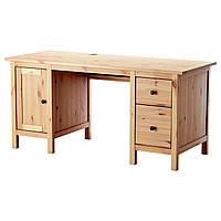 IKEA HEMNES Стол, светло-коричневый  (502.821.44), фото 1