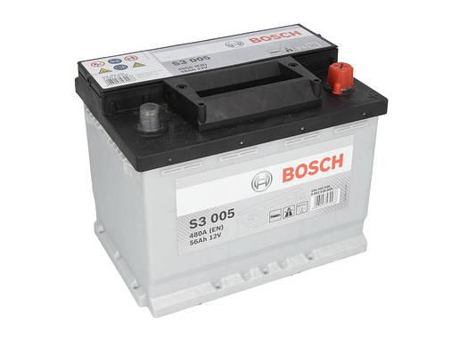 Аккумулятор Bosch S3 56Ah EN480A R+ (S3005), фото 2