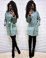 Женское  пальто Belgia оливка