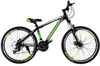 "Горный велосипед Titan Protey 26"" V2 Black-Green-Black"
