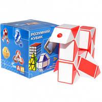 Змейка рубика бело-красная в коробке Smart Cube SCT402s