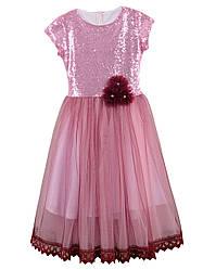 Нарядное платье на девочку, в расцветках, р.122-152