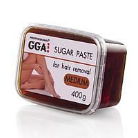 Сахарная паста для шугаринга GGA 400 г (Medium) Средняя жесткость