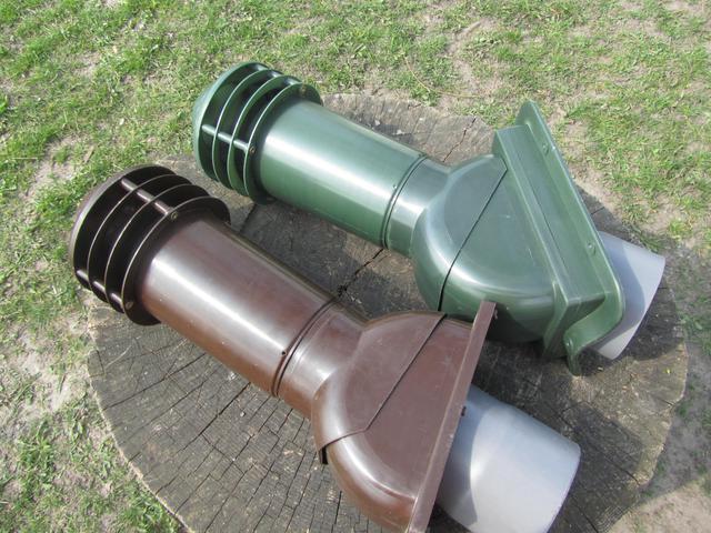 Коричневый и зеленый вентиляционный выход Камп фото