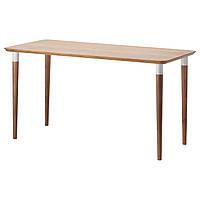 IKEA HILVER Стол, бамбук  (790.460.38), фото 1