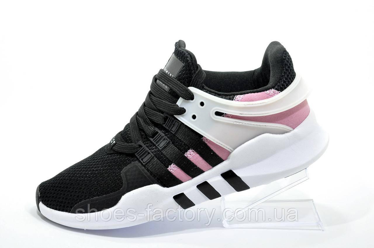 Женские кроссовки в стиле Adidas EQT Support ADV, Black\white\Pink