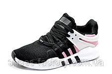 Женские кроссовки в стиле Adidas EQT Support ADV, Black\white\Pink, фото 2