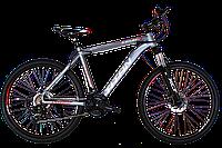 """Горный велосипед Titan Solar 26"""" Gray-Red-Black"""