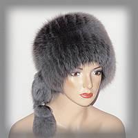 Зимняя женская шапка из меха песца