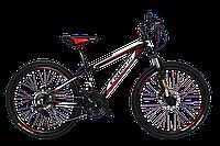 "Детский велосипед Cronus Best Mate 24"" Black-Red-White"
