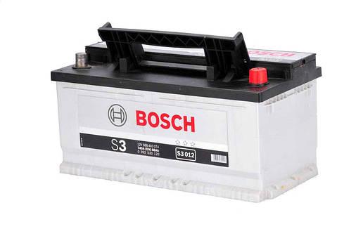 Аккумулятор Bosch S3 88Ah EN740A R+ (S3012), фото 2