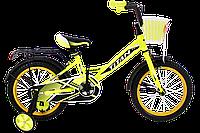 """Детский велосипед Titan Mirage 16"""" Yellow-Black"""