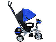 Велоколяска Titan Baby-Trike Blue (пена)