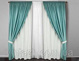 Комплект готових щільних штор в Україні