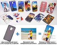 Печать на чехле для Samsung Galaxy A8 Plus 2018 A730F (Cиликон/TPU)