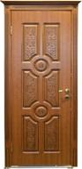 Двери межкомнатные Неман, Антарес ВИП золотой дуб ПО