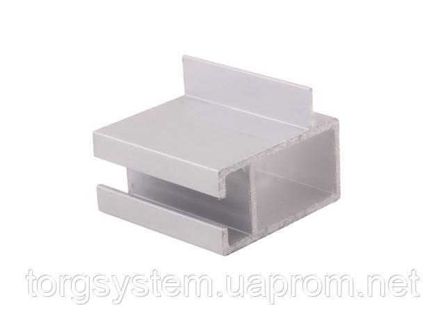 Алюминиевый профиль 2575 соединяющий для витрин