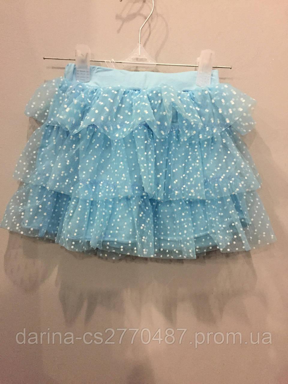 Детская юбка из фатина 4, 5 г