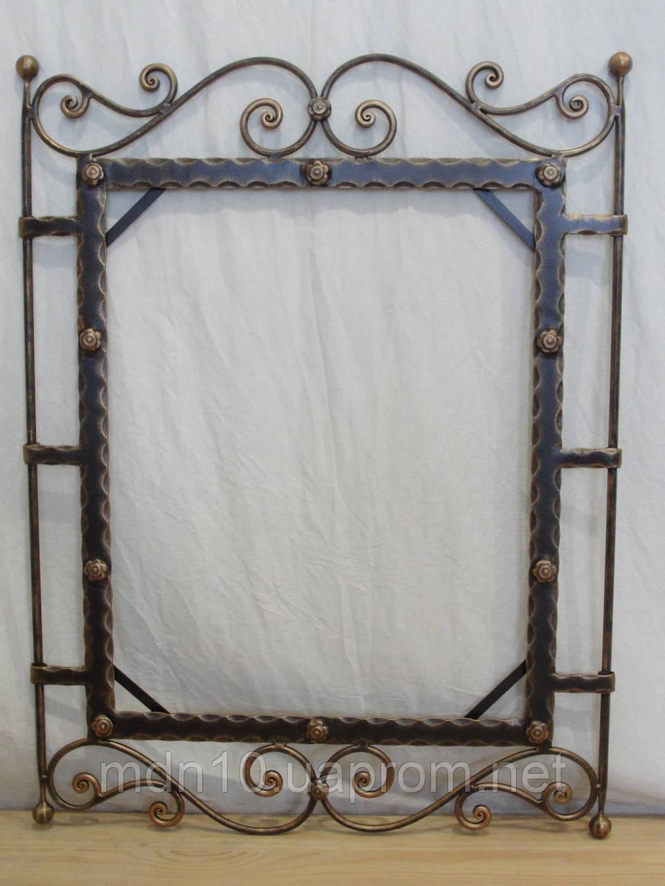 Кованая рама зеркала  - 04
