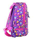 Рюкзак детский K-21 Hearts, 27*21.5*11.5, фото 2