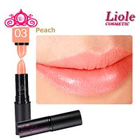 Матовая губная помада Lioele Matte Lipstick Персиковый