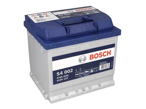 Аккумулятор Bosch S4 52Ah EN470A R+ (S4002), фото 2
