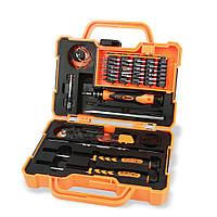 Набор инструментов JAKEMY JM-8139 в кейсе отвертки, лопатки, присоска, нож, пинцет, фото 1