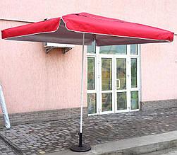 Зонт садовый, торговый, квадратный, с клапаном и напылением, 2.5 х 2.5 . мод-002W