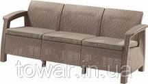 Диван CORFU Curver коричневый