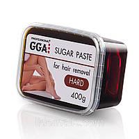 Сахарная паста для шугаринга GGA 400 г (Hard) Жесткая