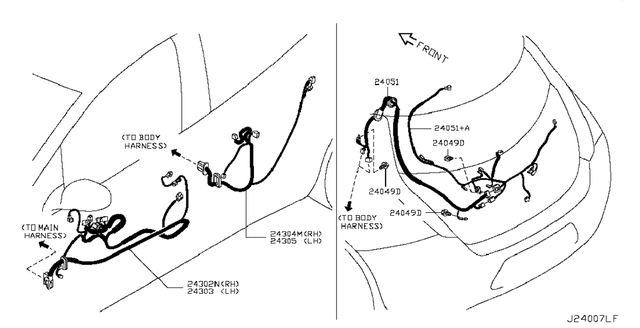 Проводка / датчики / реле двери и крышка багажника