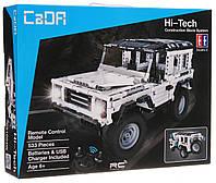 """Конструктор радиоуправляемый CaDa Technic """"Land Rover"""" с аккумулятором, 533 дет, фото 1"""