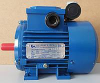 Электродвигатель однофазный АИРМУТ 63 А2 (0,37 кВт / 3000 об/мин) 220В