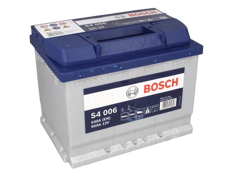 Аккумулятор Bosch S4 60Ah EN540A L+ (S4006)