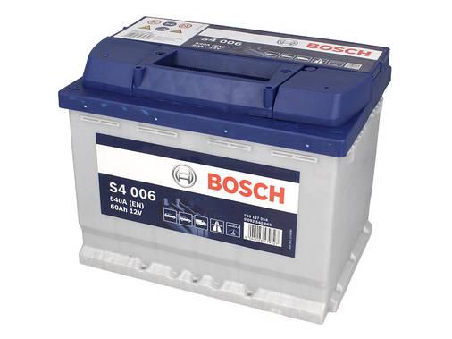 Аккумулятор Bosch S4 60Ah EN540A L+ (S4006), фото 2