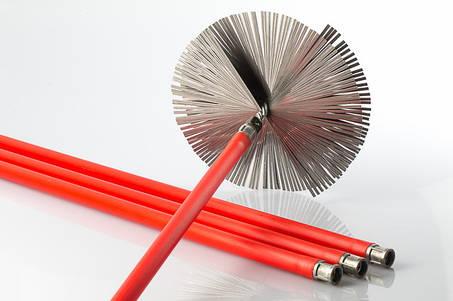Ершики, ручки, удлинители для чистки дымохода