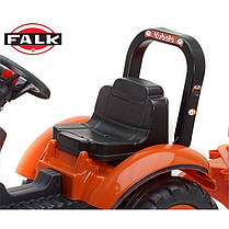 Детский трактор на педалях Falk 2065AB KUBOTA M7171, фото 2