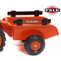 Детский трактор на педалях Falk 2065AB KUBOTA M7171, фото 3