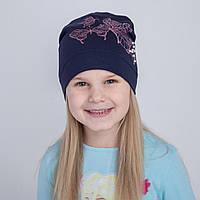 Весенняя шапка для девочки оптом - Butterfly - Артикул 2217