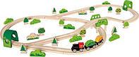 Деревянные железные дороги и поезда