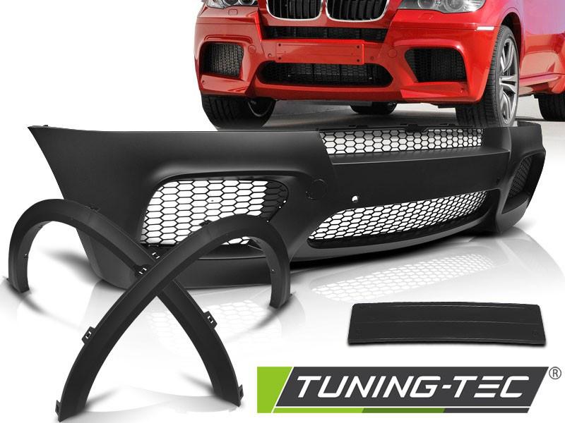 Обвес BMW X5 E70 тюнинг бампер и арки стиль X5M