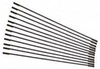 """Запасные пилочки для ручных лобзиков Stanley  l= 110 мм, 18зуб/1""""; 12 шт."""