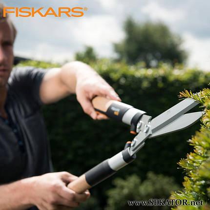 Ножиці для кущів Fiskars Quantum (114820), фото 2