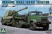 КрАЗ-6446 с полуприцепом ЧМЗАП-5247Г 1/35 TAKOM 2019